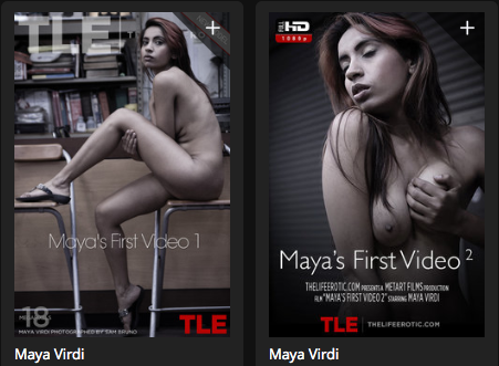 TheLifeErotic.com Maya's 1st Video